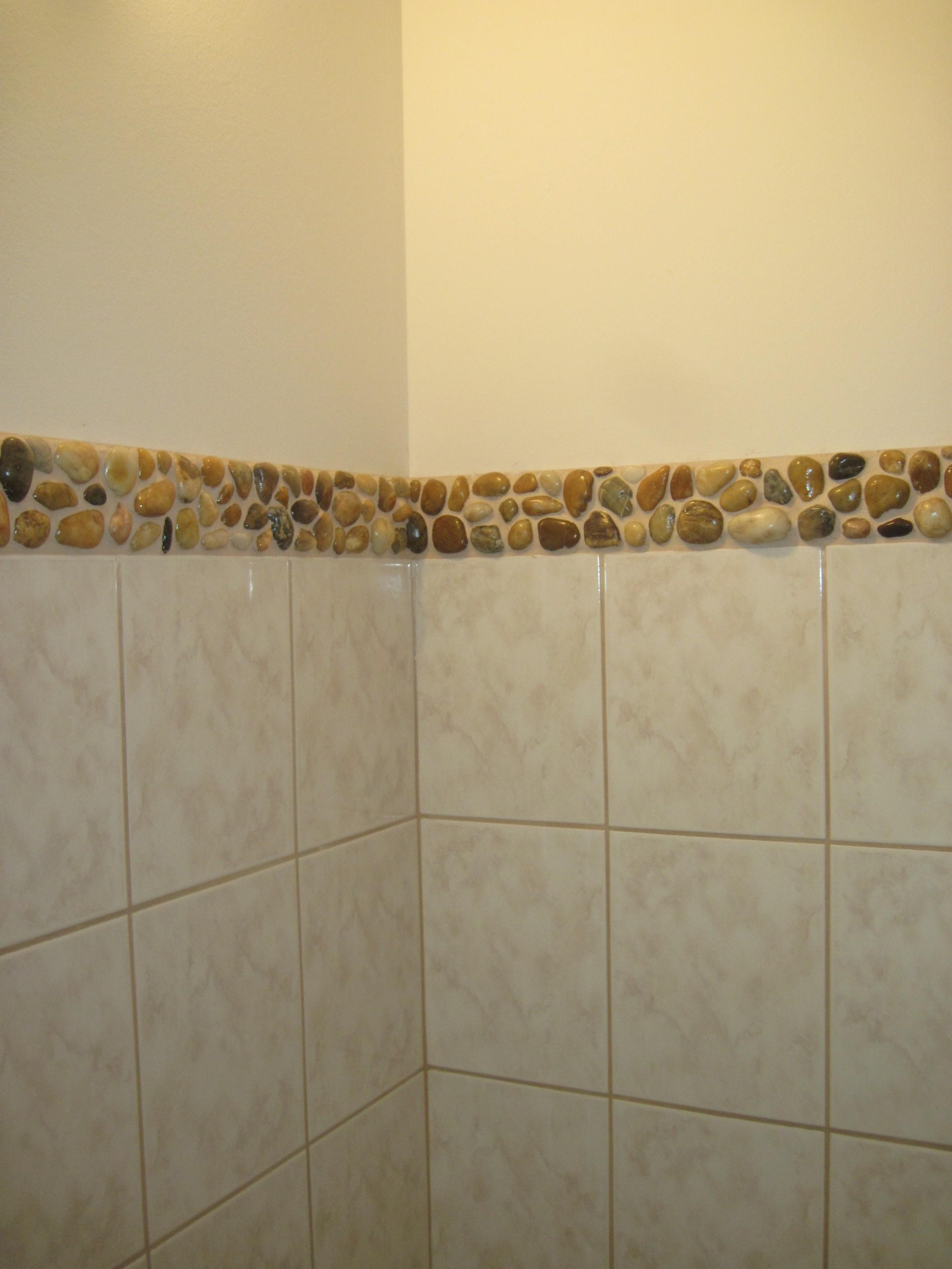 Fürdőszoba bordűr házilag - Kézműves Otthon