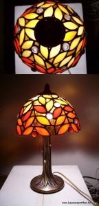 oszi level tiffany lampa