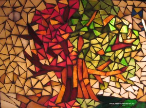 Evszakok mozaik
