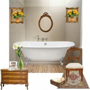 polgári fürdőszoba variáció