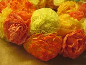 rózsa dekoráció virágfej