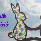 Húsvéti papírmozaik dekoráció