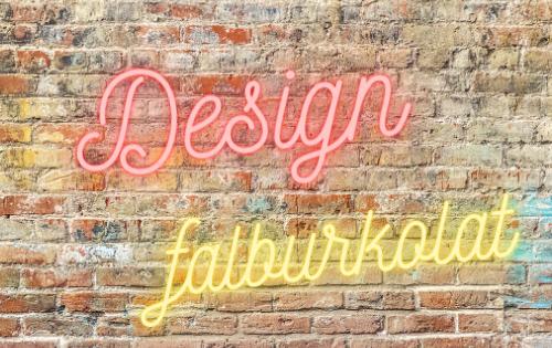 Design falburkolat, kreatív ötletek